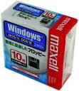 マクセル 3.5型フロッピーディスクWindows/MS-DOSフォーマット済みMFHD18.D10P 10枚入り