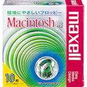 maxell 3.5型FD 10枚パック MFHDMAC.C10P Macintoshフォーマット済み 【4902580320553】