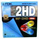 3.5インチ2HDフロッピーディスク5枚パック TDK MF2HD-256X5PB 青
