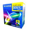 FUJIFILM MF2HDDV FM10P 5色カラーミックス フロッピーディスク DOS/V用 【4902520175090】