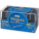 三菱化学 2HDV40 Windows DOS18フォーマット 2HD 40枚入フロッピーディスク 【4991348032081】