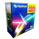FUJIFILM MF2HDMC FW10P MAC用 フロッピーディスク 10枚入り(白)【4902520175106】