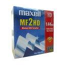 maxell MF2HD Windows/DOSフォーマーット 3.5型フロッピーディスク(黒)10枚入り【4902580320744】