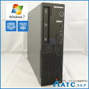 【中古デスクトップパソコン】Lenovo/ThinkCentre E73 Small/10AU00EQJP/Core i3-4150 3.5G/HDD 500GB/メモリ 4GB/Windows 7 Professio..