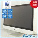 【中古デスクトップパソコン】Apple/iMac/MC813J/A/Core i5 2.7G/HDD 1TB/メモリ 4GB/27インチ/Mac OS 10.7【良】
