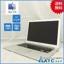 【中古ノートパソコン】Apple/MacBook Air/MJVE2J/A/Core i5 1.6G/SSD 128GB/メモリ4GB/13.3インチ/Mac OS X 10.11【良】