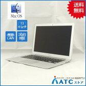 【中古ノートパソコン】Apple/MacBook Air/MJVE2J/A/Core i5 1.6G/SSD 128GB/メモリ4GB/13.3インチ/Mac OS X 10.11【優】