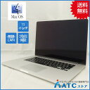 【中古ノートパソコン】Apple/MacBook Pro Retina/MGXC2J/A/Core i7 2.5GHz/SSD 512GB/メモリ 16GB/15.4インチ/Mac OS X 10.9【良】