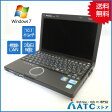 【中古ノートパソコン】Panasonic/Let's note/CF-J10AWHDS/10.1インチ/Core i5-580M/2.66G/HDD160GB/メモリ4GB/Windows 7 Professional【良】