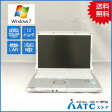 【中古ノートパソコン】Panasonic/Let's note/CF-S10EWRDS/12.1インチ/Core i5 2540M/2.6GHz/SSD128GB/メモリ4GB/Windows 7 Professional 32bit【可】