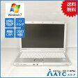 【中古ノートパソコン】Panasonic/Let's note/CF-SX2ADRCS/12.1インチ/Core i5 3340M/2.7GHz/SSD128GB/メモリ4GB/Windows 7 Professional 32bit【可】