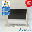 【中古ノートパソコン】Panasonic/Let's note/CF-SX2ADRCS/12.1インチ/Core i5 3340M/2.7GHz/SSD128GB/メモリ4GB/Windows 7 Professional 32bit【可】