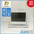 【中古ノートパソコン】Panasonic/Let's note/CF-S10EWRDS/12.1インチ/Core i5 2540M/2.6GHz/SSD128GB/メモリ4GB/Windows 7 Professional 32bit【難】