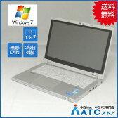 【中古ノートパソコン】Panasonic/Let's note/CF-AX2ADCCS/11.6インチ/Core i5 3437U/1.9GHz/SSD128GB/メモリ4GB/Windows 7 Professional 32bit【優】