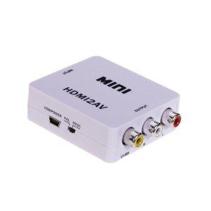 【メール便発送・代引不可】HDMI to コンポジットコンバーター AC不要タイプ 変換アダプター VMD-AV-HC100