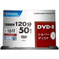 ��ɩ���إ�ǥ���VerbatimVHR12J50VS1(DVD-RCPRM�б�16��®50�祹�ԥ�ɥ�)
