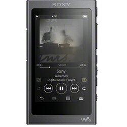 ソニー ウォークマン Aシリーズ NW-A45 (B) (グレイッシュブラック 16GB ヘッドホン別売モデル)