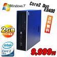 中古パソコン BTO HP 6000 Pro SFF モニタレスCore2DuoE8400欲しい機能を選んで買おう /bto-6000sf-e8400/中古