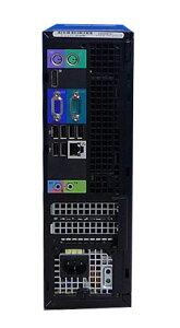 中古パソコン無線LAN対応高速SSD+HDDDELL790SF(Corei32100-3.1GHz)(メモリ4GB)(DVD)(64BitWindows7Pro)(d-300)【中古】10P05Dec15【中古パソコン】