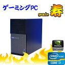 【3Dオンラインゲーム仕様 Grade 寿】 DELL Optiplex 9010MT(Core i7-3770)(メモリ16GB)(新品2TB)(DVD-Multi)(GeforceGTX750Ti)(64Bit Win7Pro)(R-dg-143)【ゲーミングpc】【中古】10P12Oct15【中古パソコン】