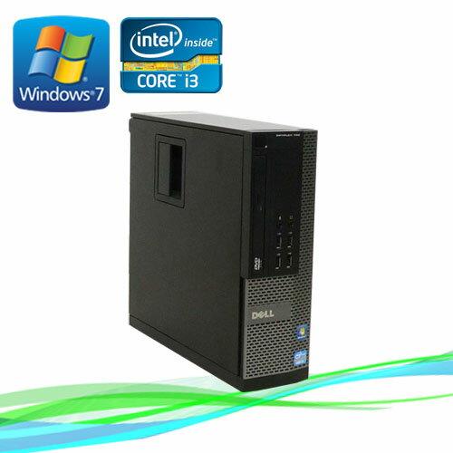7月14日20時〜エントリーで全品ポイント5倍!中古パソコン デスクトップ DELL 790SF Core i3 2100 3.1GHz ノートンセキュリティ1年版 メモリ2GB Windows7 Pro /R-d-281 /中古