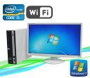 無線LAN対応 富士通 ESPRIMO D751(Corei5-2400(3.1GHz)24型ワイドモニター(メモリ2GB)(Windows7 Pro)(dtb-436)532P15May16 中古パソコン【中古】