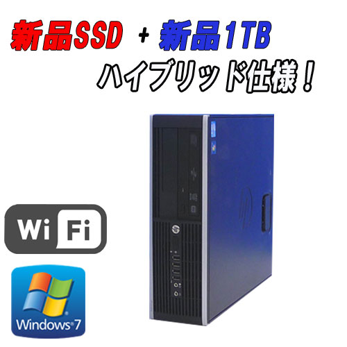 ��ťѥ�����WiFi�б���®SSD+����1TBHP8000ElietSF(Core2DuoE8400(3.0GHz)(����4GB)(DVD�����)(64BitWindows7Pro)(R-d-304)����š�10P13Dec15����ťѥ������