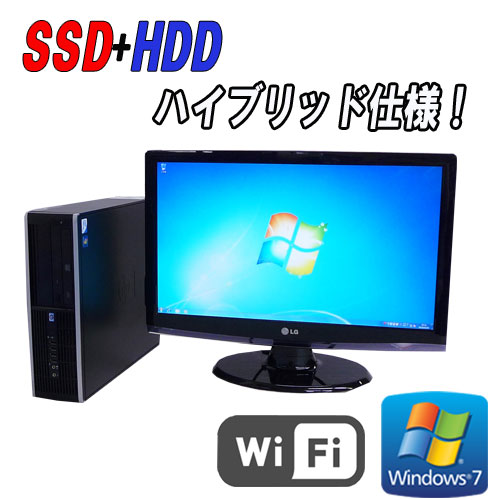 ��ťѥ�����̵��LAN�б���®SSD+HDDHP8000EliteSFF24�磻�ɱվ���˥���(Core2DuoE8400(3.0GHz)(����4GB)(64BitWindows7Pro)(R-dtb-458)����š�10P13Dec15����ťѥ������