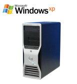 中古パソコンDELL Precision 390 Core2Duo E4300 メモリー1GB DVD-ROM WinXP Pro 32Bit(R-w-027)【ワークステーション】P01Jul16【R-w-027】【中古】