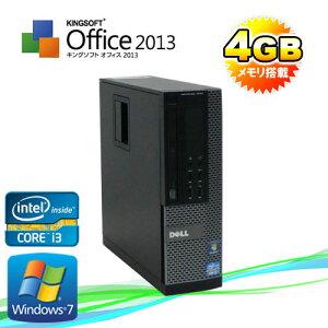 ��ťѥ�����DELL7010SF/(Corei3-3220(3.3GHz)(���4GB)(DVD-ROM)(64BitWindows7Pro)����š�10P24Dec15����ťѥ������