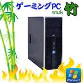 中古パソコン【3Dゲーミング仕様 Grade竹】HP 8000 Elite (Core2 Quad Q9650) (メモリ8GB) (1TB) (DVDマルチ) (GeforceGTX750Ti) (64Bit Windows7Pro) (dg-132)【ゲーミングpc】 02P09Jul16 【R-dg-132】【中古】