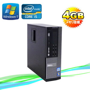 ��ťѥ�����DELLOptiplex7010SF/��˥��쥹Corei5-3470(3.2GHz)(���꡼4GB)(DVD�ޥ��)(64BitWindows7Pro)(R-d-284)����ťѥ������P15Aug15����š�05P01Mar15��smtb-k��