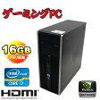 中古パソコン【ゲーミングPC仕様】 HP 8200 Elite MT(Core i7-2600)(大容量メモリ16GB)(500GB)(DVD-Multi)(GeforceGTX750Ti)(64Bit Win7Pro)【ゲーミングpc】02P18Jun16【R-dg-198】【中古】