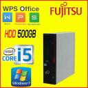 中古パソコン デスクトップ Windows7Pro 64Bit 富士通 FMV d582 Core i5 3470(3.2GHz) メモリ8GB HDD500GB DVD-ROM WPS Office付き R-d-351 USB3.0対応 中古