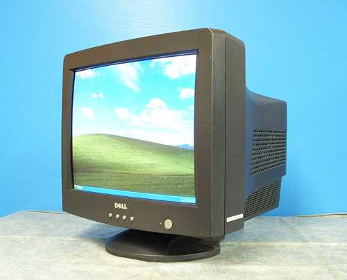 中古パソコン デスクトップ 限定品 CRTモニター DELL 17型CRT /c-012/中古