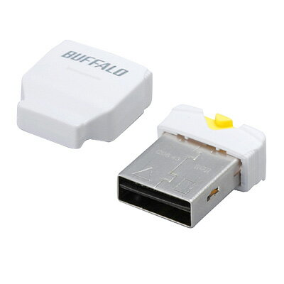 iBUFFALO BSCRMSDCWH カードリーダー/ライター microSD対応 超コンパクト ホワイト