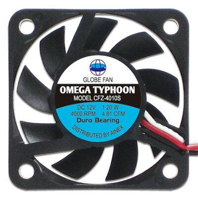 アイネックス CFZ-4010SA OMEGA TYPHOON 40mm 薄型 超静音タイプ 高品質・信頼の日本メーカー製ベアリングで長寿命!