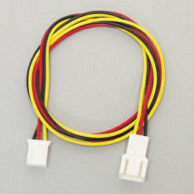 アイネックス CA-090 50cm ファン用電源延長ケーブル ファンの3ピンコネクタケーブルを延長します。