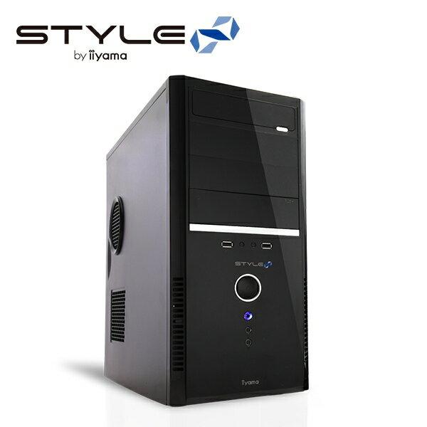 iiyama Stl-R017-i7-RN-M [Windows 10 Home] Core i7+GeForce GTX 1060搭載 ミドルタワーパソコン [SSD+HDD] モニタ別売 [BTOパソコン] [イイヤマ] [送料無料]