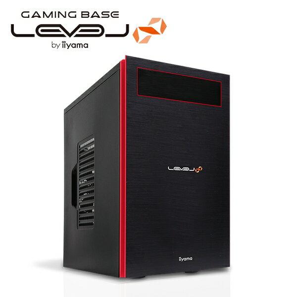 【ポイント10倍】【送料無料】iiyama LEVEL∞ ゲーミングパソコン Lev-M015-i7-TNR-M [Windows 10 Home/Core i7-6700/GeForce GTX 1070/8GB メモリ/高速500GB SSD/1TB HDD] [イイヤマ] [BTOパソコン]