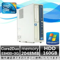 �ʰ¥ѥ�������ťѥ�������ɣУå������桪��ťѥ�����Windows7(Windows7Pro32bit���)NECMA-9Core2DuoE84003G/����2GB/160GB/DVD-ROM
