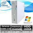 今だけポイント5倍!中古パソコン【Windows 7 Pro】東芝 EQUIUM 3520 Celeron E3300 2.5G/2G/160GB/DVD-ROM【EC】【DP1648-B6】