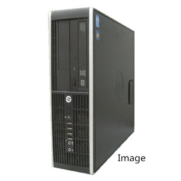 中古パソコン デスクトップ Windows 7 Pro 64Bit【無線有】HP 8000 Elite SF Core2Duo E7500 2.93G/2G/160GB/DVD-ROM