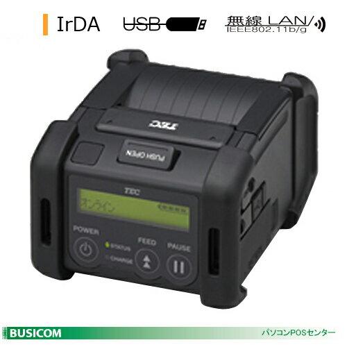 TEC 2inch幅ポータブルプリンタ B-EP2DL(IrDA+USB+無線LAN)【送料無料・手数料無料】♪