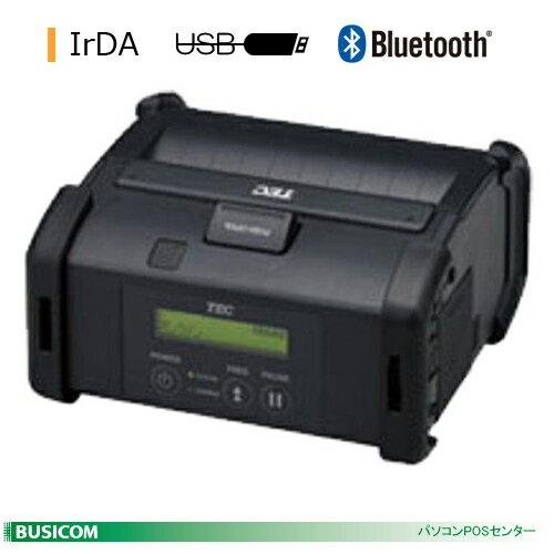 TEC 4inch幅ポータブルプリンタ B-EP4DL(IrDA+USB+Bluetooth)【送料無料・手数料無料】♪
