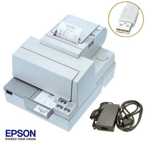 EPSON レシート/スリッププリンタ (USBタイプ) TM-H5000ii 電源付セット【送料無料・手数料無料】♪