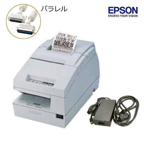EPSON レシート/スリッププリンタ (パラレルタイプ) TM-H6000iii 電源ユニット・ACケーブル付【送料無料・手数料無料】♪