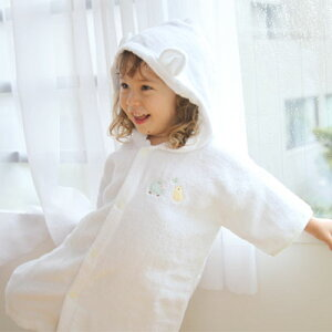 赤ちゃん バスローブ 湯上がり