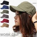 【CAP】DH コットンプレーンワークキャップ 帽子 CAP...