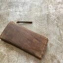 SLOW kudu -L zip long wallet-財布 革財布 レザークラフト レザー メンズ レディース